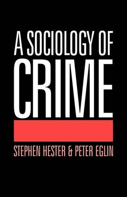 A Sociology of Crime (Paperback)