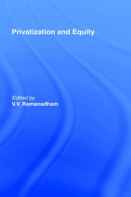 Privatization and Equity (Hardback)