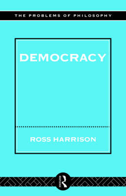 Democracy - Problems of Philosophy (Paperback)