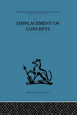 Displacement of Concepts (Hardback)