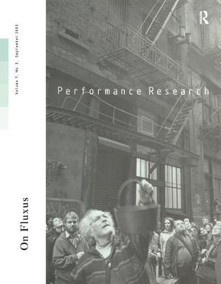 Performance Research: Volume 7, Issue 3 (Paperback)
