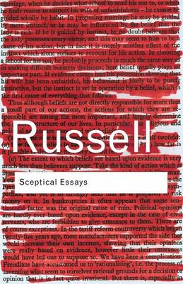 Sceptical Essays - Routledge Classics (Paperback)