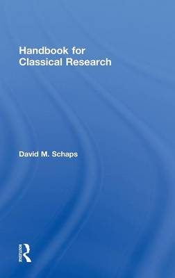 Handbook for Classical Research (Hardback)