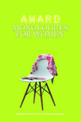 Award Monologues for Women (Paperback)
