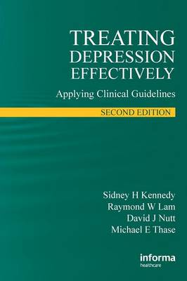 Treating Depression Effectively: Applying Clinical Guidelines (Paperback)