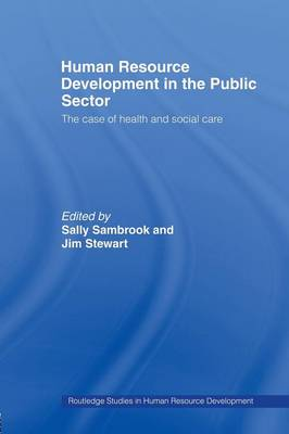 Human Resource Development in the Public Sector (Paperback)