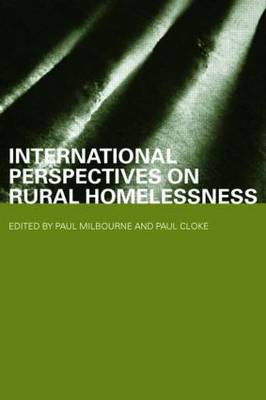 International Perspectives on Rural Homelessness - Housing, Planning and Design Series (Paperback)