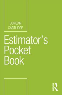 Estimator's Pocket Book (Paperback)