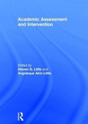 Academic Assessment and Intervention (Hardback)