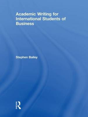 Academic Writing for International Students of Business (Hardback)