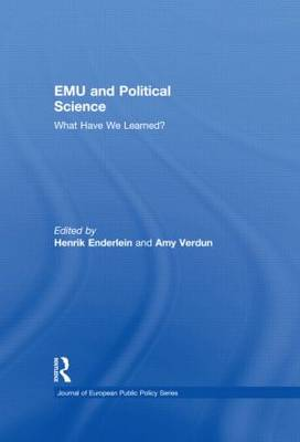 EMU and Political Science - Journal of European Public Policy Special Issues as Books (Hardback)