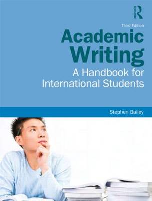 Academic Writing: A Handbook for International Students (Paperback)