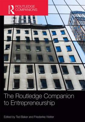 The Routledge Companion to Entrepreneurship - Routledge Companions in Business, Management and Accounting (Hardback)