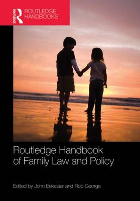 Routledge Handbook of Family Law and Policy (Hardback)