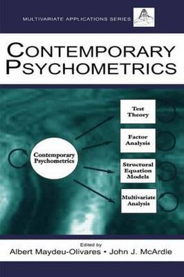 Contemporary Psychometrics - Multivariate Applications Series (Paperback)