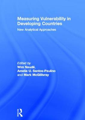Measuring Vulnerability in Developing Countries: New Analytical Approaches (Hardback)