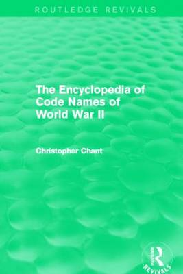 The Encyclopedia of Codenames of World War II - Routledge Revivals (Paperback)