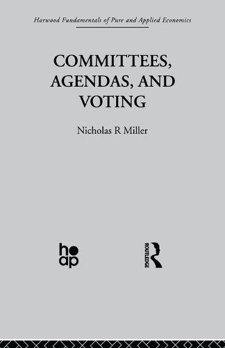 Committees, Agendas and Voting (Paperback)