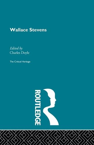 Wallace Stevens (Paperback)