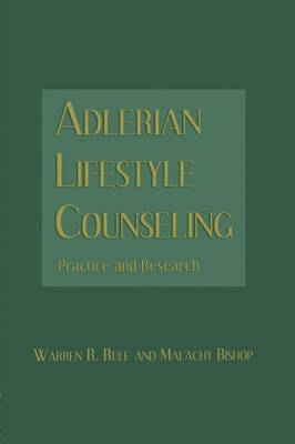 Adlerian Lifestyle Counseling: Practice and Research (Paperback)