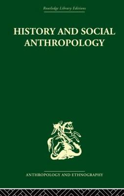 History and Social Anthropology (Paperback)