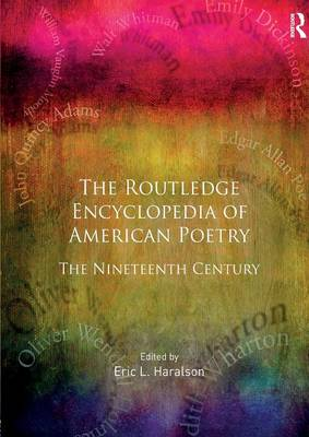 Encyclopedia of American Poetry: The Nineteenth Century (Paperback)