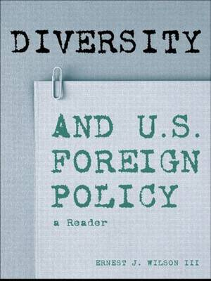Diversity and US Foreign Policy: A Reader (Hardback)