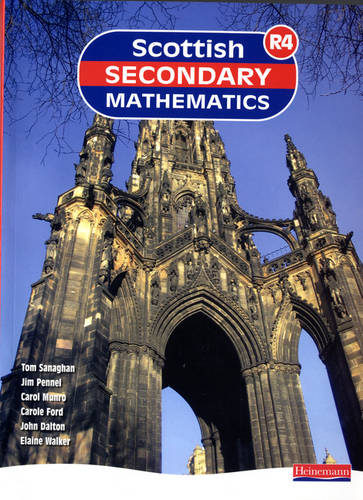 Scottish Secondary Mathematics Red 4 Student Book: Supporting Curriculum for Excellence - Scottish Secondary Maths (Paperback)