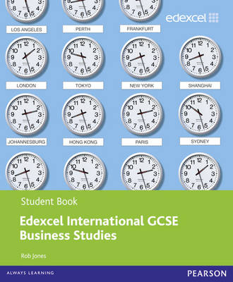 Edexcel International GCSE Business Studies Student Book with ActiveBook CD - Edexcel International GCSE (Mixed media product)
