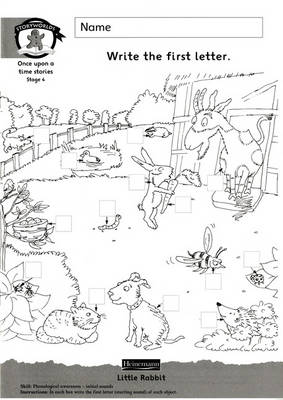 Literacy Edition Storyworlds Stage 4, Once Upon a Time World, Workbook - Storyworlds (Paperback)