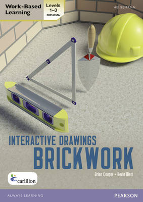 Level 1-3 NVQ/SVQ Diploma Brickwork Interactive Drawings - Brickwork NVQ and CAA Diploma Levels 1 and 2 (CD-ROM)