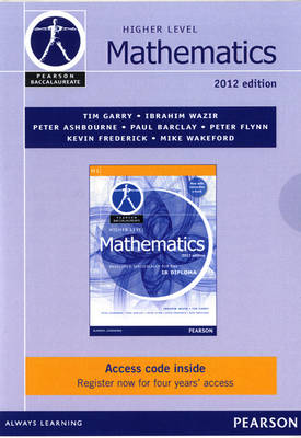 Pearson Baccalaureate Higher Level Mathematics Ebook Only Edition for the IB Diploma - Pearson International Baccalaureate Diploma: International Editions (Cards)