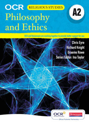 A2 Philosophy and Ethics for OCR Student Book - OCR GCE Religious Studies Ethics 2008 (Paperback)
