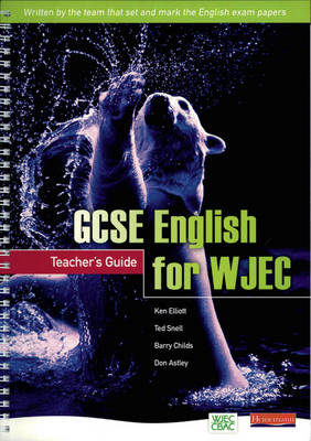 GCSE English for WJEC: Teachers Guide - GCSE English for WJEC (Mixed media product)