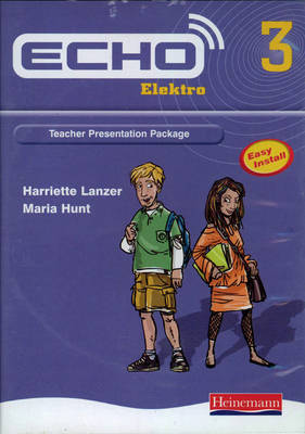 Echo Elektro 3 Teacher Presentation Package - Echo for Key Stage 3 German (CD-ROM)