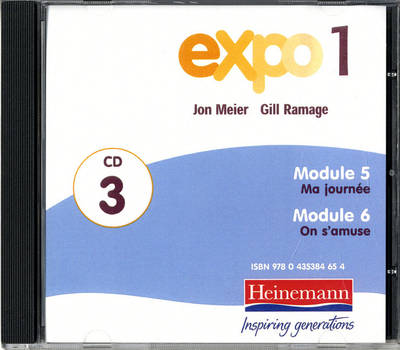 Expo 1 Audio CDs (Pack of Three) - Expo 11-14 (CD-Audio)