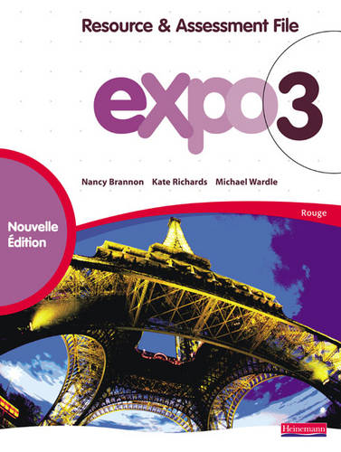 Expo 3 Rouge Resource and Assessment File New Edition - Expo 11-14 (Mixed media product)