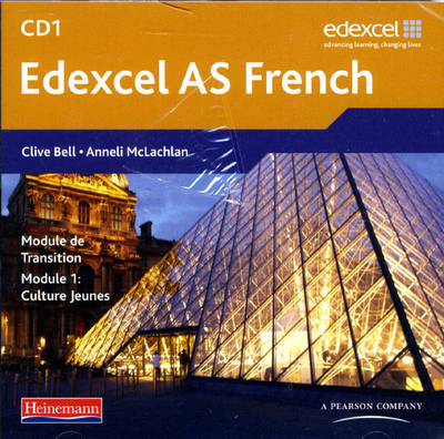 Edexcel A Level French (AS) Audio CD Pack of 3 - Edexcel A Level French (CD-Audio)
