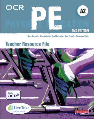 OCR A2 PE Teaching Resource File - OCR GCE PE (Mixed media product)