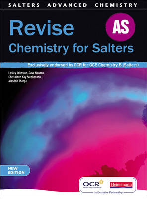 REVISE AS for Salters - Salters' Advanced Chemistry (Paperback)