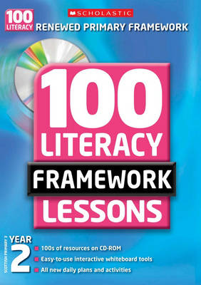 100 New Literacy Framework Lessons for Year 2 with CD-Rom - 100 Literacy Framework Lessons (Mixed media product)