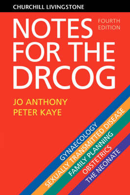 Notes for the DRCOG - DRCOG Study Guides (Paperback)