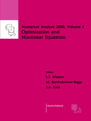 Nonlinear Equations and Optimisation - Numerical Analysis 2000 4 (Paperback)