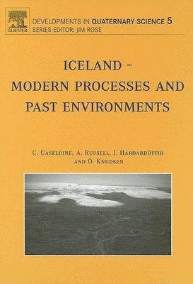 Iceland: Modern Processes and Past Environments - Developments in Quaternary Science v. 5 (Hardback)