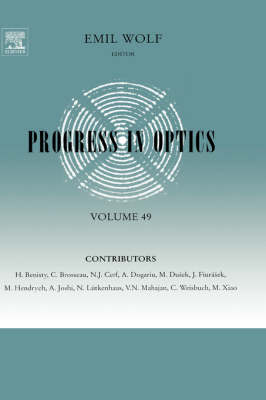 Progress in Optics - Progress in Optics v. 46 (Hardback)