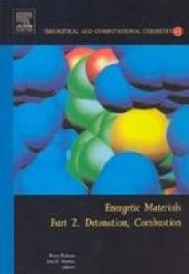 Energetic Materials: Detonation, Combustion Pt. 2 - Theoretical and Computational Chemistry v. 13 (Hardback)