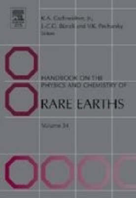 Handbook on the Physics and Chemistry of Rare Earths - Handbook on the Physics & Chemistry of Rare Earths 34 (Hardback)