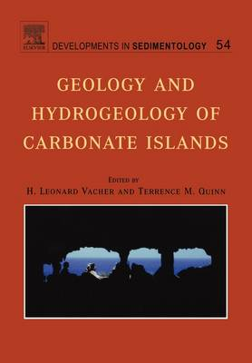 Geology and Hydrogeology of Carbonate Islands - Developments in Sedimentology v. 54 (Paperback)