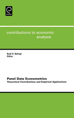 Panel Data Econometrics: Theoretical Contributions and Empirical Applications - Contributions to Economic Analysis v. 274 (Hardback)