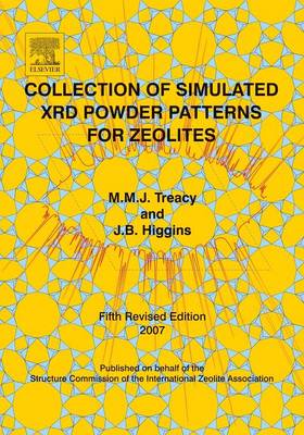 Collection of Simulated Xrd Powder Patterns for Zeolites (Paperback)